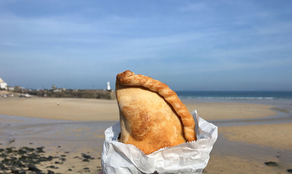 Pasty in St Ives